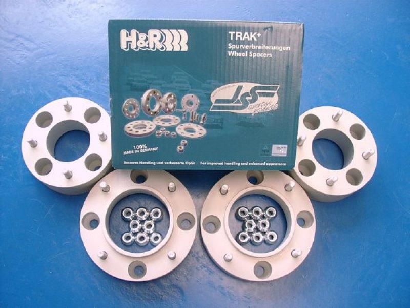 H&R Spurverbreiterungen mit TÜV-Teilegutachten